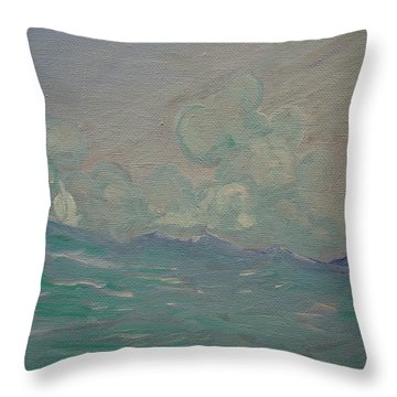 Happy Wanderer 8 Throw Pillow