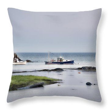 Harbor De Grace Throw Pillow