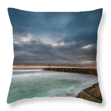 Coastal Landscape Throw Pillows