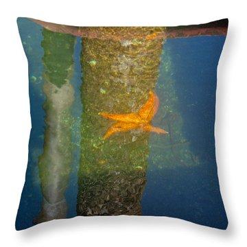 Harbor Star Fish Throw Pillow