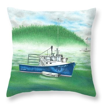 Harbor Throw Pillow