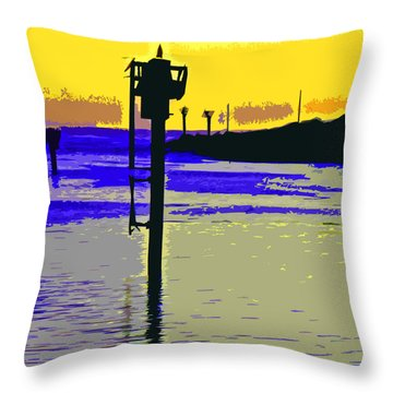 Harbor View Throw Pillow