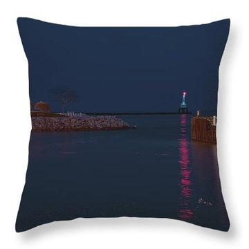 Harborside Icons Throw Pillow