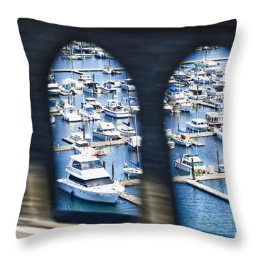 Harbour Bridge Throw Pillow