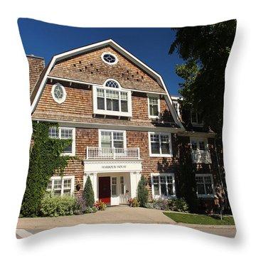 Harbour House Niagara-on-the-lake Throw Pillow by Nicky Jameson