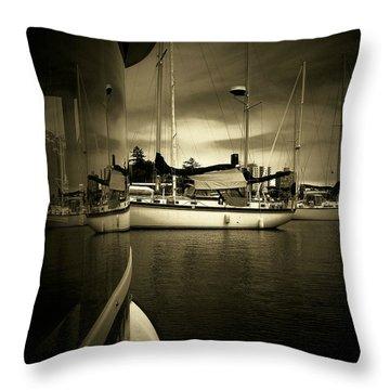 Harbour Life Throw Pillow