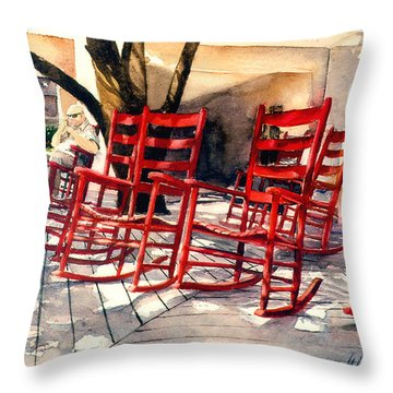 Harbourtown Rockers Throw Pillow