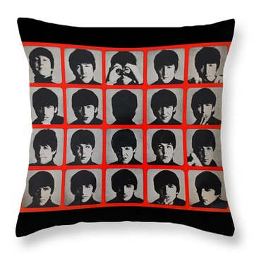 Hard Days Night Throw Pillow