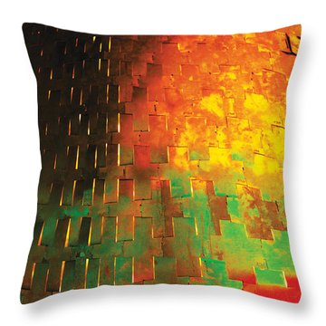 Hard Skin Throw Pillow