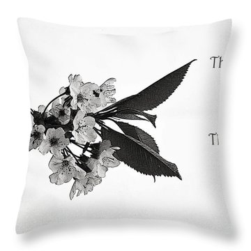Hard Time Throw Pillow
