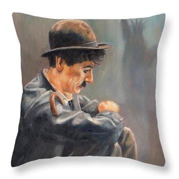 Hard Times Throw Pillow