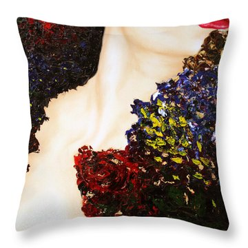 Hard To Get Throw Pillow