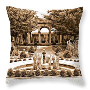 Harkness Estate Throw Pillow
