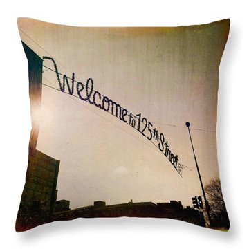 Harlem Throw Pillow by H James Hoff