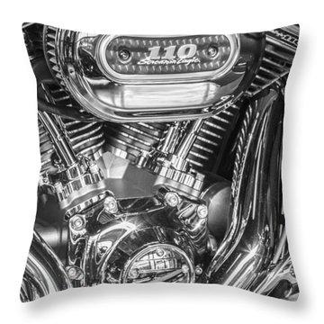 Harley Davidson 110 Throw Pillow