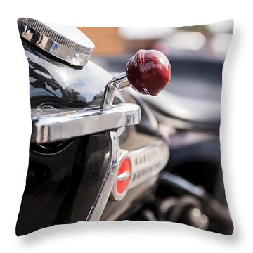 Harley Davidson Jockey Shift Throw Pillow