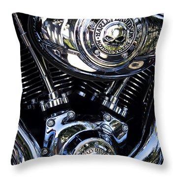 Harley Davidson Series 02 Throw Pillow