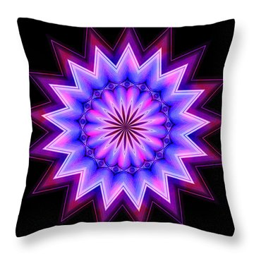 Harley Kaleida 1 Throw Pillow