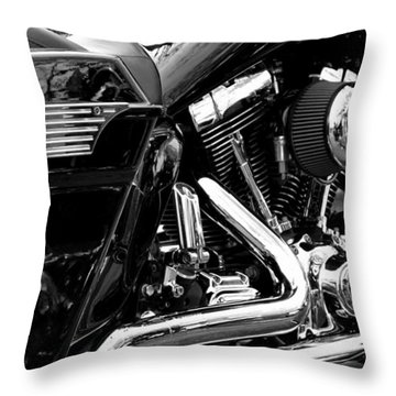 Harley Throw Pillow by Michelle Calkins