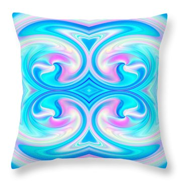 Harmonies 1 Throw Pillow