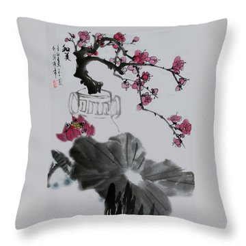 Harmony And Beauty Throw Pillow