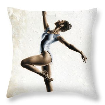 Harmony And Light Throw Pillow