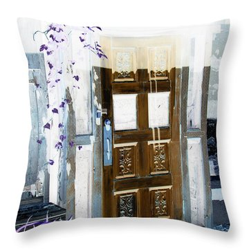 Harmony Doorway Throw Pillow