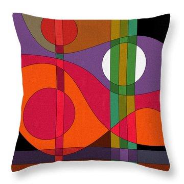 Harmony II Throw Pillow
