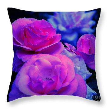 Throw Pillow featuring the photograph Harmony In Color by Clayton Bruster