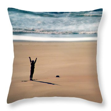 Harmony  Throw Pillow by Micki Findlay