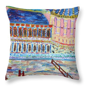 Harmony Of Night Throw Pillow