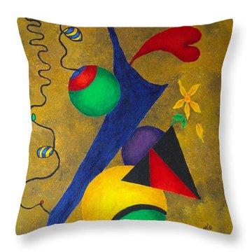 Harmony Throw Pillow by Pamela Allegretto