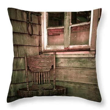 Throw Pillow featuring the photograph Harmony Still Life by Terry Garvin