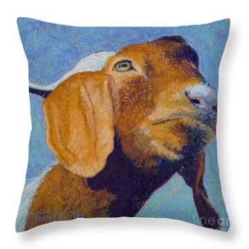 Harold Throw Pillow by Tracy L Teeter