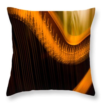 Harp Throw Pillow