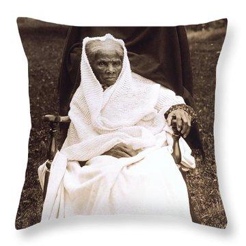 Harriet Tubman Portrait 1911  Throw Pillow by Unknown