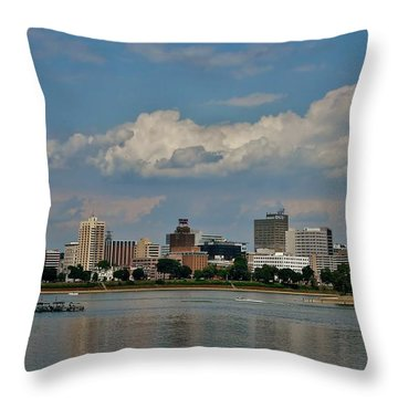 Harrisburg Skyline Throw Pillow
