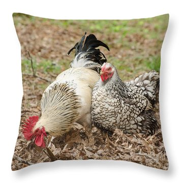 Harry And Lacy Throw Pillow