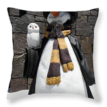 Harry Christmas Throw Pillow