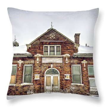 Hart Creamery Throw Pillow