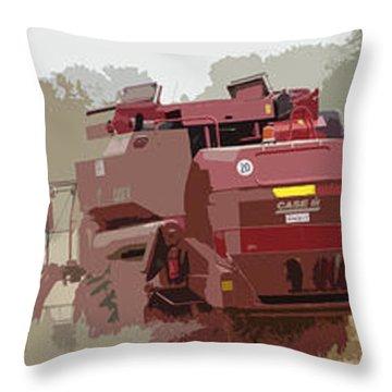 Harvest 4 Throw Pillow by Carol Lynch