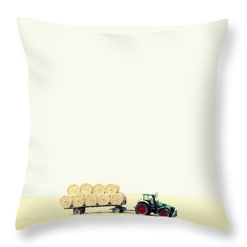 Harvest Throw Pillow by Chevy Fleet