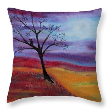Harvest Moon 2 Throw Pillow