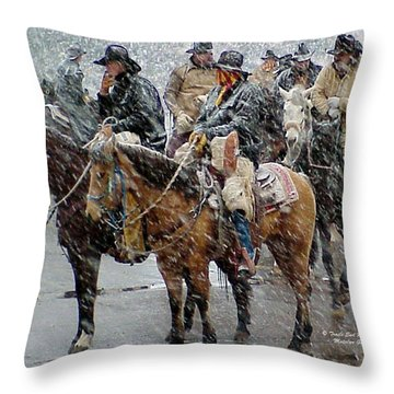 Hashknife Pony Express Throw Pillow