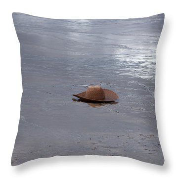 Hat At Grand Prismatic Spring Throw Pillow