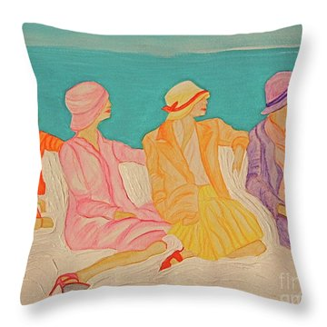 Hats By Jrr Throw Pillow by First Star Art