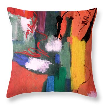 Hats Off To Hans #1 Throw Pillow