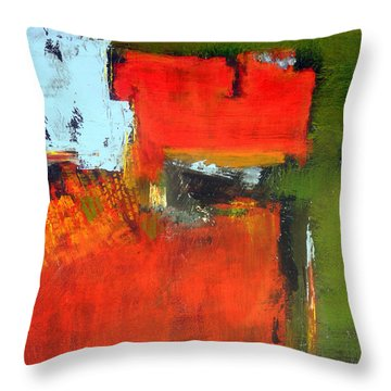 Hats Off To Hans #2  Throw Pillow by Jim Whalen