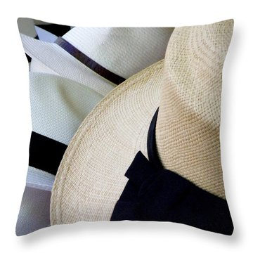 Hats Off To You Throw Pillow by Lainie Wrightson