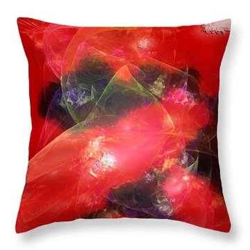 Haunted Czar Of Brilliance Throw Pillow